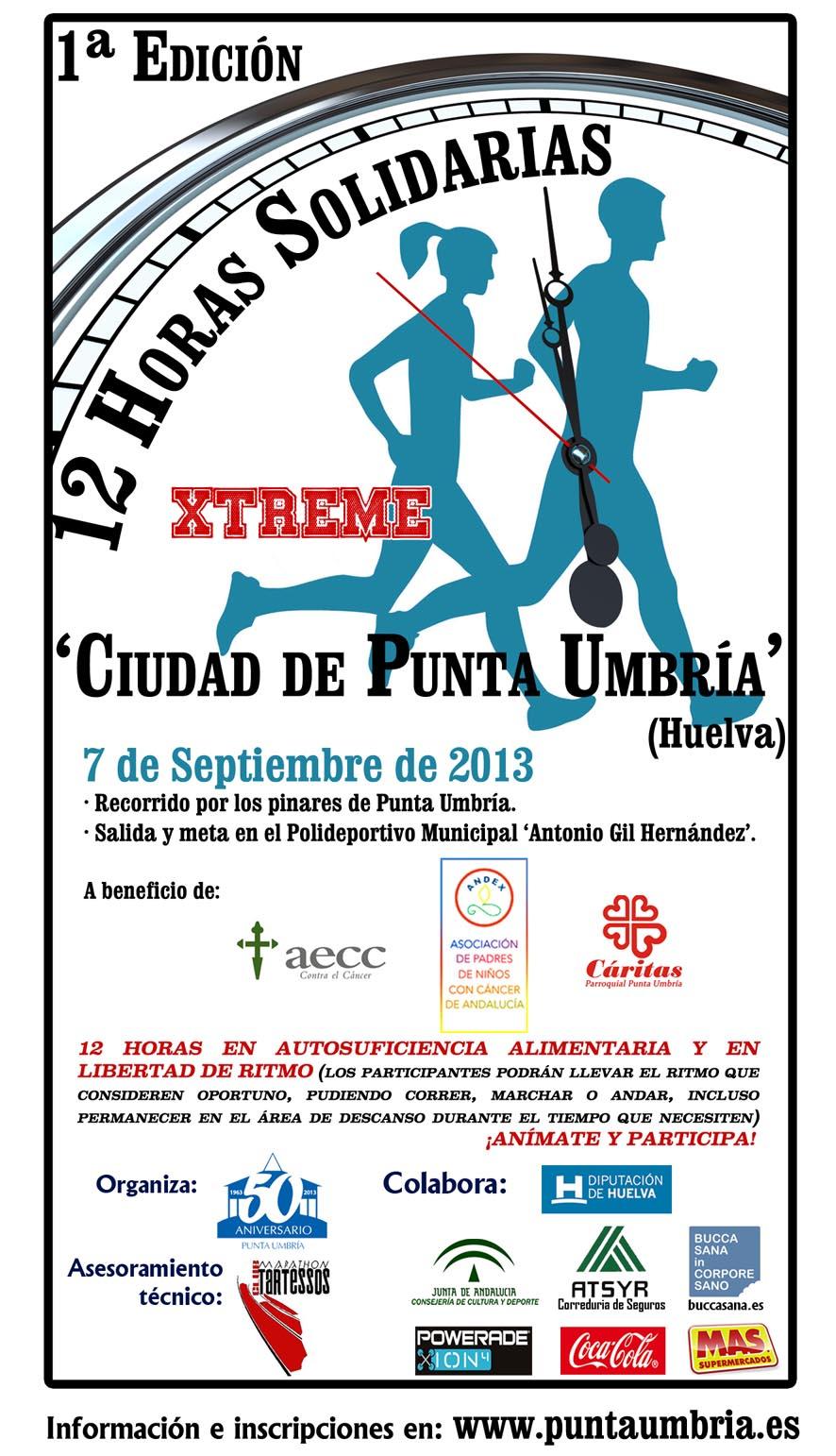 12 Horas Solidarias Xtreme 'Ciudad de Punta Umbría' Cartel_12_horas_solidarias_2_web1374826882918