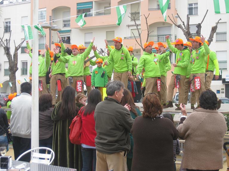 El Carnaval de la Luz 2014 de Punta Umbría concluye mañana sábado con las Piñatas